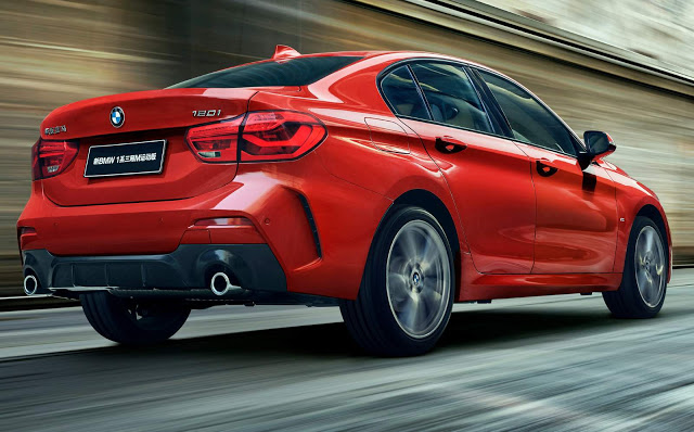 BMW Série 1 Sedã ganha versão Sport na China: detalhes