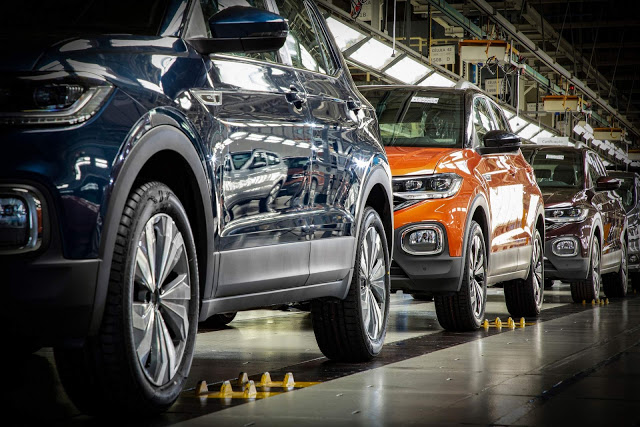 Volkswagen: produção suspensa até final de abril - Brasil